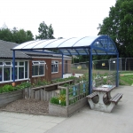 Sports Court Shelter Canopies in Ablington 3