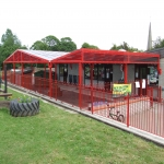 Sports Court Shelter Canopies in Ablington 1