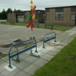 Outdoor Scooter Racks Installation in Bradenstoke 11