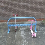 Outdoor Scooter Racks Installation in Lyndon 1