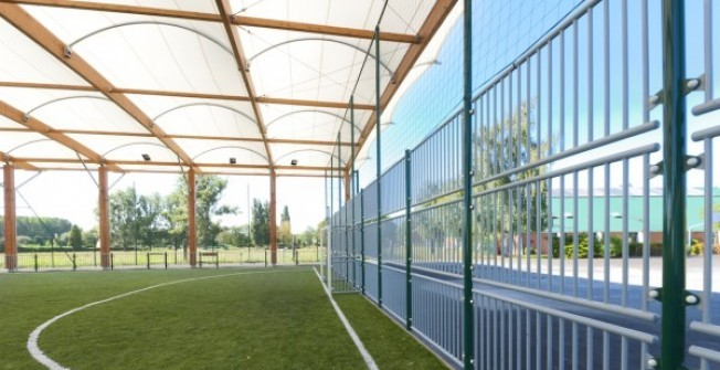 MUGA Pitch Canopy in Epping Green