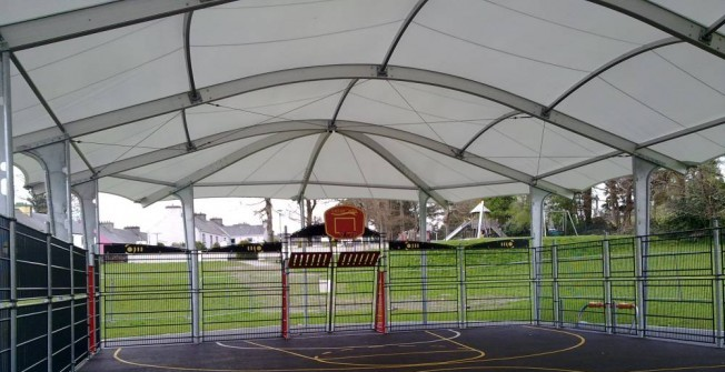 MUGA Roof Cover in Abbots Worthy