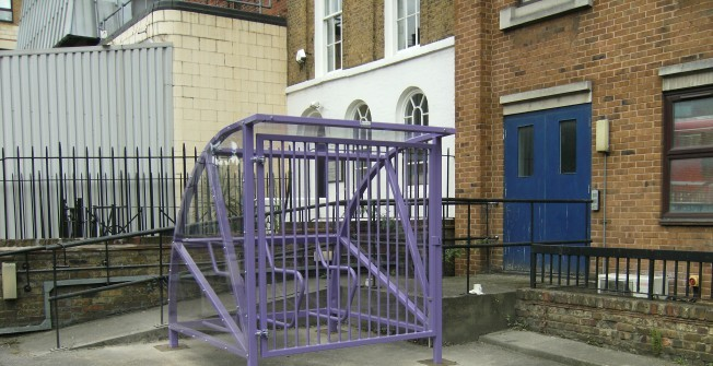 Bicycle Storage Facility in Accrington