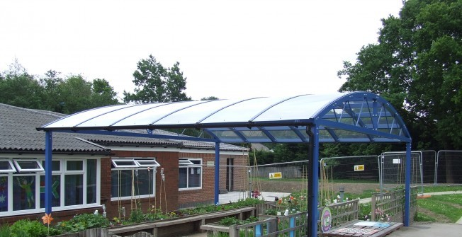 Outdoor Meeting Canopy in Berkshire