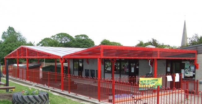 External Classroom Facilities in Roby