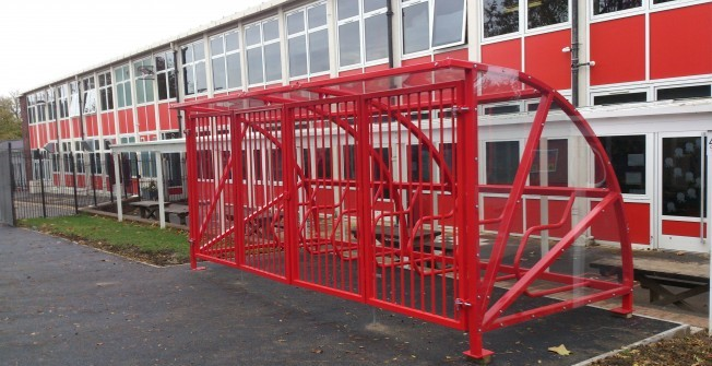 Safe Bike Storage Depot in Llanfarian