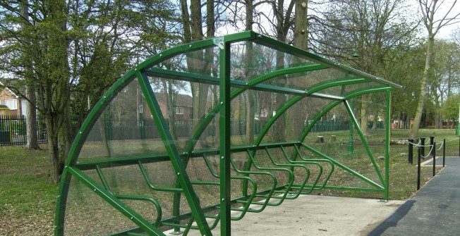 Bike Shelter Facility Storage in Warwickshire