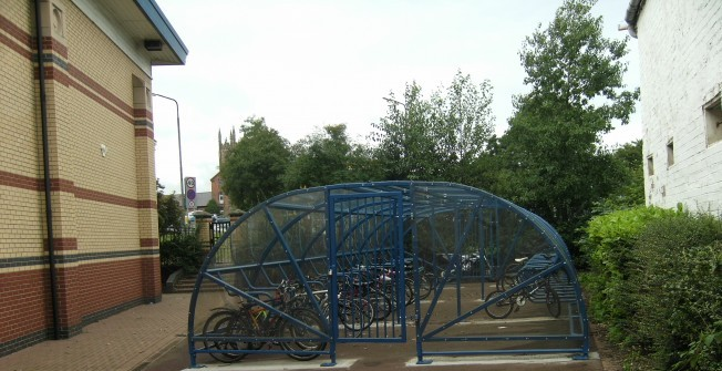 Bicycle Storage Unit in Scottish Borders