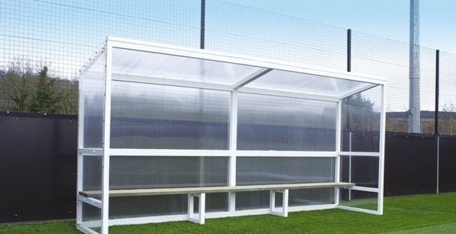 Sports Pitch Shelter in West Dunbartonshire